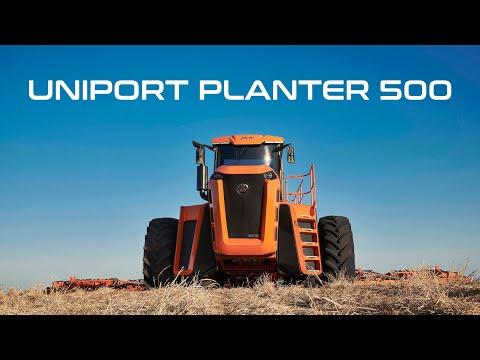 Uniport Planter 500 - Energia inovadora para seu plantio.