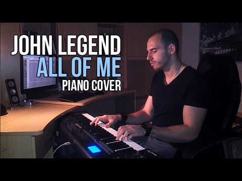 John Legend - All Of Me (Piano Cover by Marijan) + Sheets
