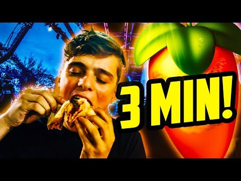 MARTIN GARRIX  PIZZA in UNDER 3 MINUTES! THE LUIGY SHOW #3