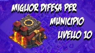 Clash of Clans - Difesa Municipio livello 10