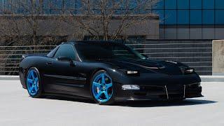 C5 CORVETTE ** FORGESTAR CF5 ** CUSTOM FINISH