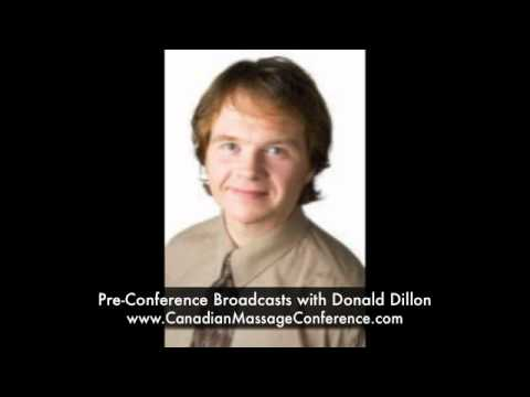 Insurance Claims? Pre-Conference Broadcasts with Donald Dillon - Canadian Massage Conference
