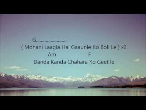 Mohani Lagla Hai (Chino) - Lyrics and Chords