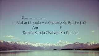 Mohani Lagla Hai (Chino) - Lyrics and Chords