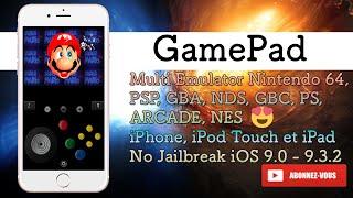 Multi Emulator Nintendo 64, PSP, GBA, NDS, GBC, PS1, ARCADE sur l'iPhone iPod et iPad No Jailbreak