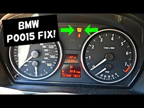 BMW CODE P0015 B CAMSHAFT POSITION TIMING OVER RETARDED