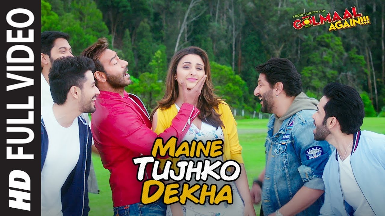 maine-tujhko-dekha-full-song-video-golmaal-again-ajay-devgn-parineeti-t-series