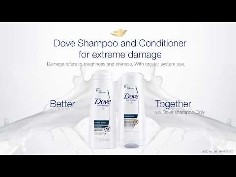 Dove Shampoo and Conditioner - Better Together