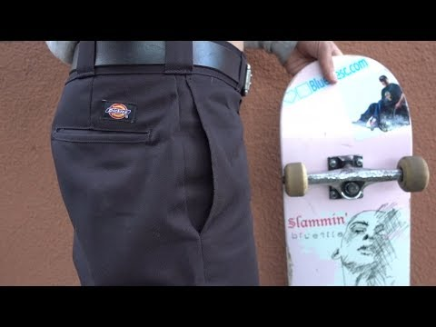 THE BEST PANTS FOR SKATEBOARDING!