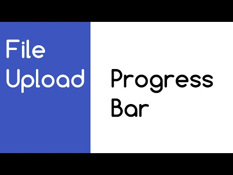 File Upload PROGRESS BAR XMLHttpRequest Upload TUTORIAL