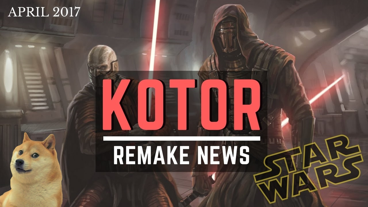 KOTOR Remake News! - Official Star Wars Knights of the Old Republic Reboot  Coming?