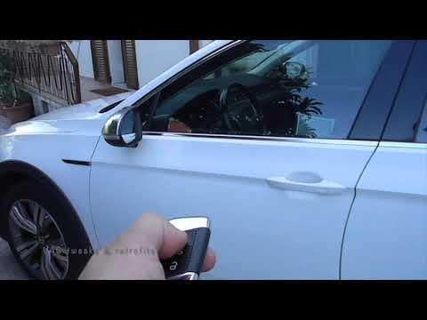 Volkswagen Golf MK7 lowering mirror in reverse