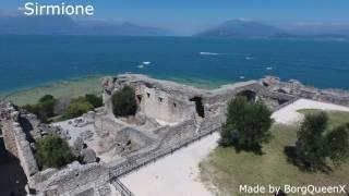Italy - Lake Garda from Above in 4K