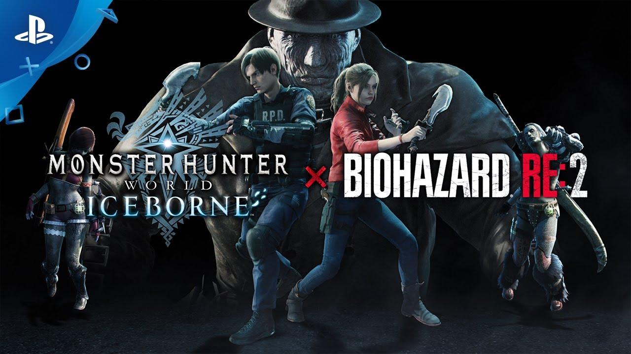 『モンスターハンターワールド:アイスボーン』 × 『BIOHAZARD RE:2』紹介映像