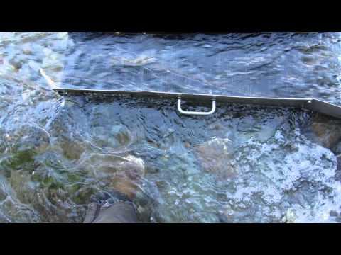 first time using a sluice box gold creek juneau alaska