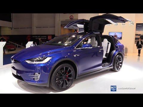 2020 Tesla Model X - Exterior and Interior Walkaround - 2020 Brussels Motor Show