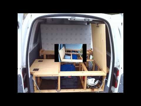 umbau schlafsystem camping ausbau vw touran doovi. Black Bedroom Furniture Sets. Home Design Ideas