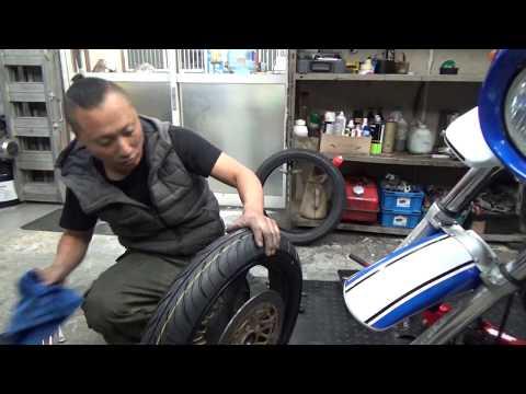 GSX400 IMPULSE 視聴者さんのバイクを整備する風景(裏)