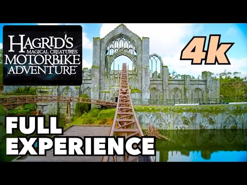 [NEW] Hagrid's Magical Creatures Motorbike Adventure - Full Experience in Front Row