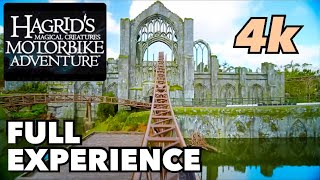 Hagrid's Magical Creatures Motorbike Adventure - Full Experience in Front Row
