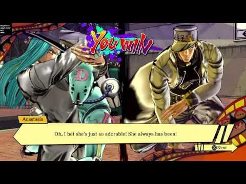 Narc Anastasia meets Jotaro (parts 3 & 4)