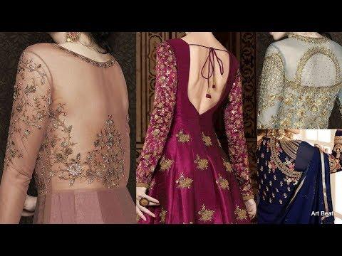 Designer Back Neck For Kurtis, Punjabi Dresses, Crop Tops & Lehengas