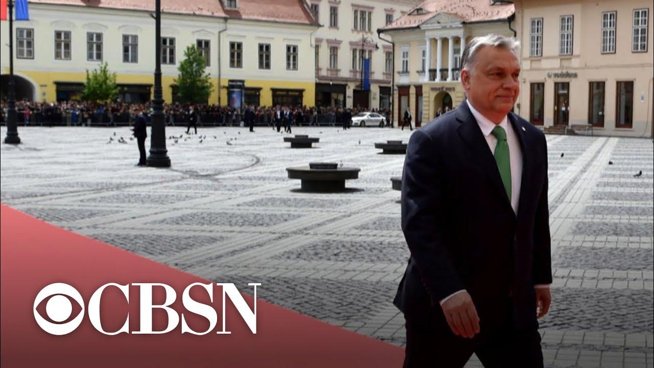 Trump praises far-right Hungarian leader in White House meeting