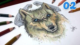 Comment dessiner : Loup, Goron [TUTO] #2 Zelda