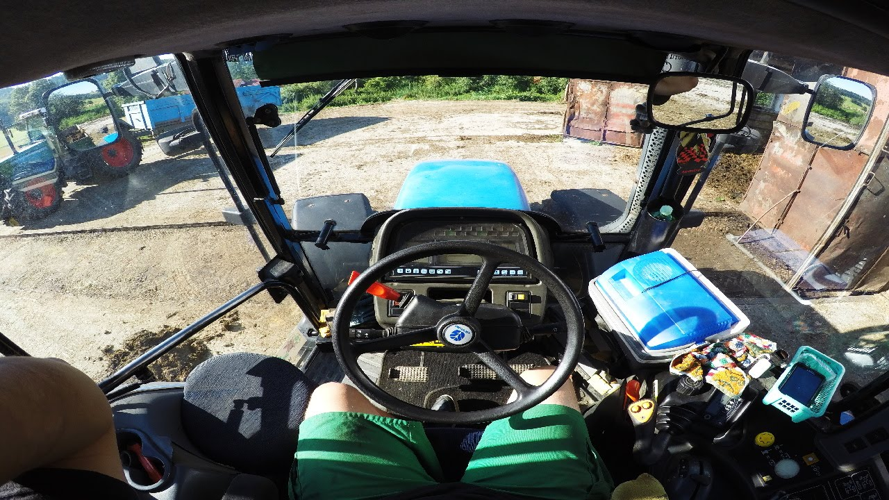 New Holland In Cab View