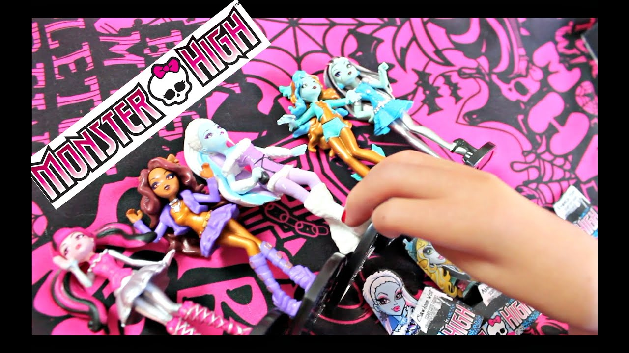 How I Draw Monster High Dolls And More Youtube