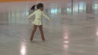 BEST 3 year old FIGURE SKATER EVER!!! (Reinah's First ISI Figure Skating Competition!)