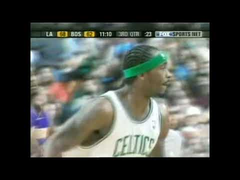 Ricky Davis 1 on 1 with a rim - 3/10/04 - Showtime!