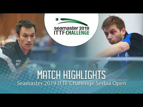 Stefan Fegerl Vs Peto Zsolt   2019 ITTF Challenge Serbia Open (R32)