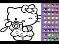 Hello Kitty Coloring Games Free Online