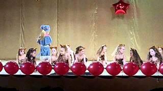 Кошкин танец. Отчетный концерт модельного агентства Ra-Fasion