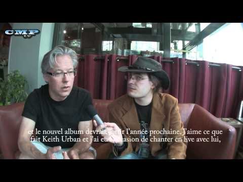 Radney Foster interview at the Festival Country Rendez-vous in Craponne sur Arzon