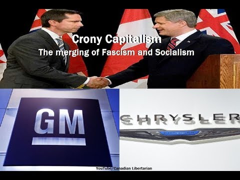 Crony Capitalism - The merging of Fascism and Socialism