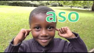 Head, Shoulders, Knees and Toes Song (Akan) Twi