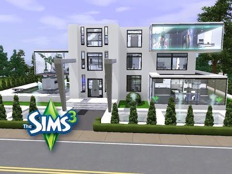 Sims 3 Haus Bauen Let S Build Haus Futura 1 Youtube