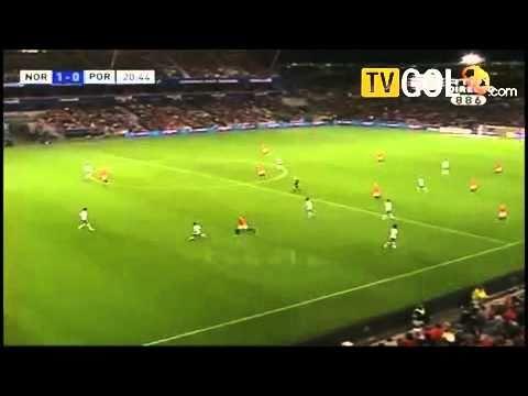 Norway Vs Portugal 1 0 Huseklepp Goal Hd Euro 2010 Youtube