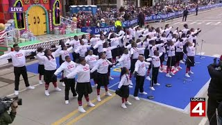 Detroit Youth Choir helps open 2019 America's Thanksgiving Parade