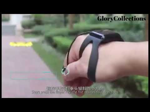Smart Watch Control LED Drone