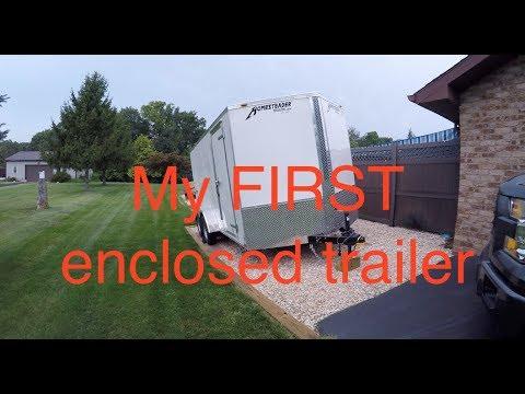 Homesteader 7x14 V Nose Trailer