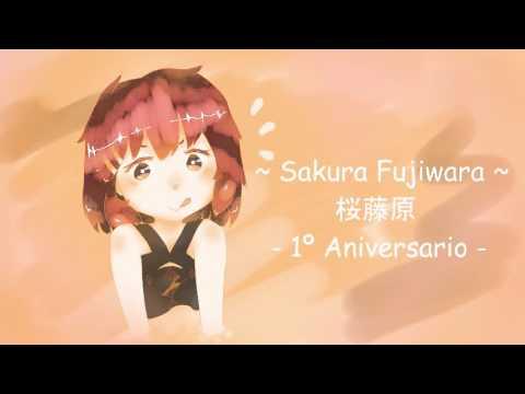 【 UTAUカバー 】 Kotoba no uta 【 Sakura Fujiwara,開花 】  - 1º Aniverssary -