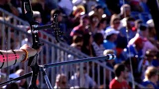 Brady makes it three: shoot-off win over D'Almeida | Lausanne 2014 Archery World Cup Final