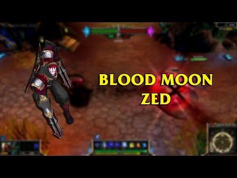 New zed skin rito please - Blood moon zed ...