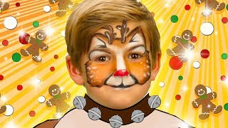 Rudolph Face Paint | WigglePop
