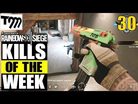 Rainbow Six Siege - Top 10 Kills of the Week #30 (Siege Highlights)