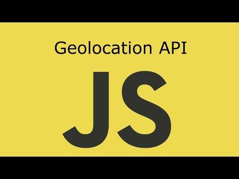 JavaScript Lesson 18 Geolocation API