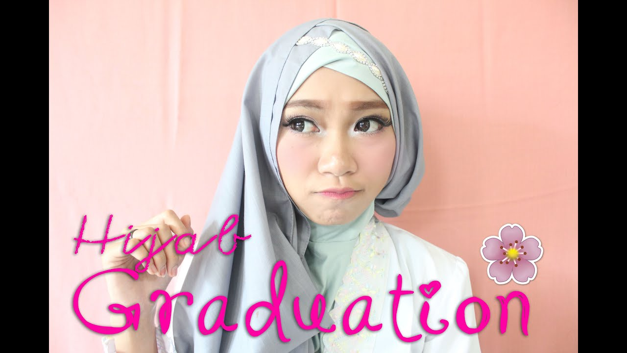 Tutorial Hijab Simple GRADUATION Atami Puspa YouTube